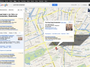 Google Maps with Google Plus My Business Entry