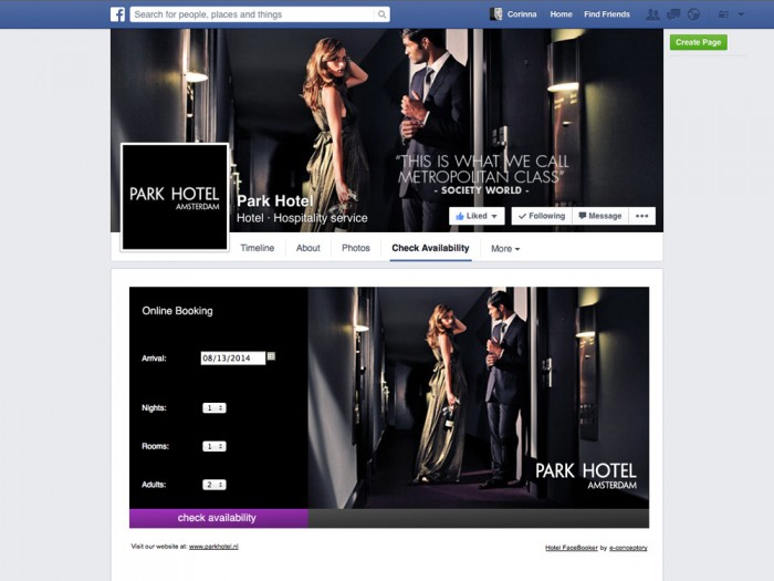 Park Hotel Amsterdam - Social hotel booking online